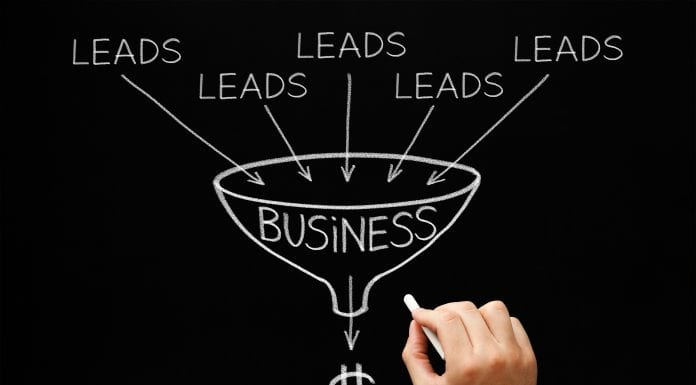 Business Lead Generation Chart