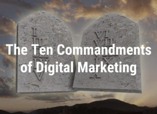 Ten Commandments of Digital Marketing